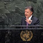 Foto: César Carrión - SIG  En su discurso ante las Asamblea General de la Organización de las Naciones Unidas, el Jefe de Estado colombiano consideró que el narcotráfico es un combustible del conflicto en Colombia y en el mundo. Explicó que Colombia ha promovido una discusión seria sobre los resultados de la lucha antidrogas y ya hay resultados a nivel hemisférico, como la resolución de la OEA lograda la semana pasada en Guatemala.