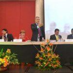No aceptamos la violencia como presión para el pueblo colombiano, advirtió el Jefe del Estado en el Décimo Congreso de la CGT.Foto: Mónica González - Presidencia