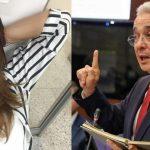 Mónica Rodríguez y Álvaro Uribe