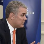 Presidente Iván Duque dio una entrevista al diario The Washington Post