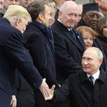 Donald Trump, el ruso Vladimir Putin, el turco Recep Tayyip Erdogan y la canciller alemana Ángela Merkel destacaron entre los cerca de 70 jefes de Estado.AFP