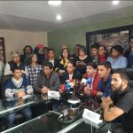Movilización amplia, masiva y pacífica es la decisión de los estudiantes, buscamos verdadera voluntad política del gobierno en la mesa de negociación 2018-11-14 23.19.39 (1)