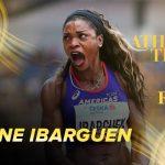 Caterine Ibargüen, finalista en la elección a la mejor atleta del año