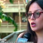 representante estudiantil al Consejo Superior de la Universidad Nacional, Jennifer Pedraza