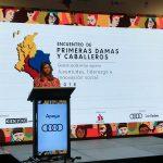La señora María Juliana hizo el pronunciamiento en el 'Encuentro de Primeras Damas y Caballeros