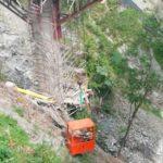 Rescate puente La Pala