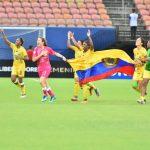 Las jugadoras del Huila celebran su pase a la final de la Libertadores.