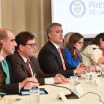 """""""Hoy dimos el primer paso para la solución estructural al problema heredado de Electricaribe"""", anunció este jueves el Presidente Iván Duque."""