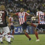 Junior y Paranaense empataron en el juego de ida