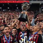 Atlético Paranaense es el campeón de la Conmebol Sudamericana (1)