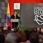 'La Clínica Shaio significa tecnología al servicio de la medicina, con afecto', dijo el Presidente Duque durante el homenaje a tres de sus médicos