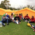 Campamento de Venezolnaos En Bogota