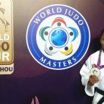 Yuri Alvear, plata en el Torneo de Maestros de Judo