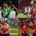 Nacional,Tolima, Junior y Medellin por la Libertadores 2019