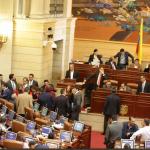 Ministro de Hacienda, Alberto Carrasquilla, la plenaria 2018-12-19 13.13.17