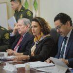 Mininterior Nancy Patricia Gutiérrez, al presentar las conclusiones de la precomisión Nacional de Garantías de Seguridad (1)