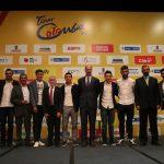 Las grandes estrellas colombianas abrieron el Tour Colombia 2.1