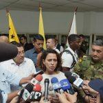 En su visita a San Vicente del Caguán, Caquetá, la ministra del Interior, Nancy Patricia Gutiérrez2019-01-16 at 1.36.09 PM (2)