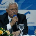 Presidente del Partido Conservador, Hernán Andrade Serrano,