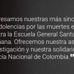 Mensaje Embajada USA EN COLOMBIA