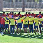 Selección Colombia Masculina Sub-20, realizó su último entrenamiento antes del juego frente a s (