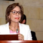 vicepresidenta del senado, Teresita García