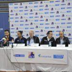 Entrega Palacio de los Deportes y presentación Equipo Colombia Colsanitas. Foto: Fedecoltenis / William Mora.