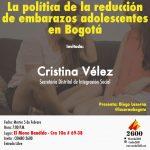 La política de la reducción de embarazos adolescentes en Bogotá