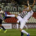 Once Caldas igualó 1-1 frente a Deportivo Santaní por la Copa Sudamericana 2019A