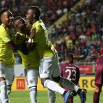 Colombia derroto 0-2 a Venezuela