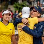 Camila Osorio y Catalina Castaño. Foto: Federico Ruiz Martínez.