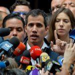 Jefe del Parlamento venezolano, Juan Guaidó
