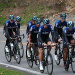 El Team Sky, encabezado por Chris Froome, fue el primero en llegar a tierras antioqueñas para prepararse de cara al Tour Colombia y al resto de la temporada.