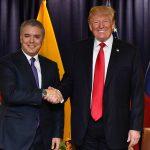 Presidente Iván Duque y el Presidente Donald Trump