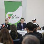 En Bogotá, el Eje Cafetero radicó el documento de postulación como sede de Juegos Nacional