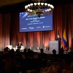 Durante su intervención en la Cámara de Comercio de Estados Unidos, el Presidente Iván Duque invitó a no menos de 200  empresarios de múltiples sectores de la producción, para que vean a Colombia como el caso de éxito que es.