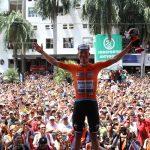 El luxemburgués Bob Jungels (Deceuninck-Quick Step) ganó este viernes la cuarta etapa del Tour Colombia UCI 2.1