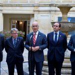 Presidente de Comisión de Exteriores del Congreso español, Josep Antoni Duran, manifestó apoyo al proceso de paz.Foto: Javier Casella - SIG