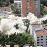 cayó Mónaco, el edificio símbolo de la mafia en Medellín