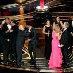 El equipo de 'Green Book' celebra el Oscar a la mejor película