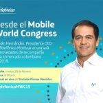Fabian Hernández CEO de Telefónica Colombia