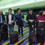 Jorge ramos y su equipo regreso a MIAMI