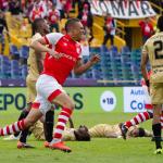 Santa Fe salvó un punto sobre el final ante Rionegro Águilas 2019-03-03 21.37.05 (2)