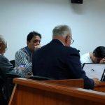Audiencia al exfiscal Carlos Bermeo