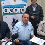 JUNTA DIRECTIVA ACORD COLOMBIA Faiver Hoyos, Jairo Giraldo y Julio César Campos