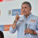 """""""No más  terrorismo, no más golpes miserables a la infraestructura"""", dijo el Presidente Iván Duque este sábado en Saravena, Arauca,   durante el Taller Construyendo País #24."""