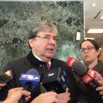 Carlos Holmes Trujillo , ministro de defensa