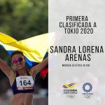 Sandra Lorena Arenas primera Clasificada a Tokyo