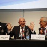 Baltazar Medina pasó de tesorero a segundo vicepresidente de la Organización Deportiva Suramericana, Odesur.