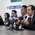 Rueda de prensa con la delegación de paracycling que arribó desde Holanda